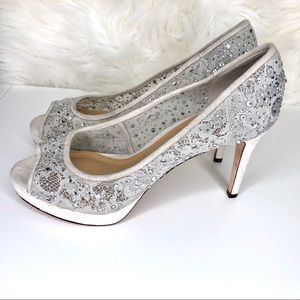ANTONIO MELANI Shoes - ANTONIO MELANI | Lace and rhinestone wedding shoes